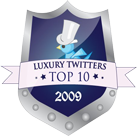 Top 10 Luxury Twitters